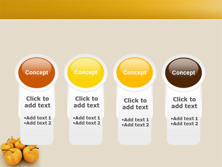 Yellow Apples PowerPoint Template Slide 5