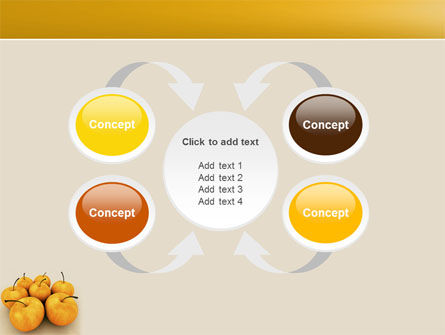 Yellow Apples PowerPoint Template Slide 6