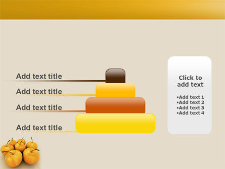 Yellow Apples PowerPoint Template Slide 8