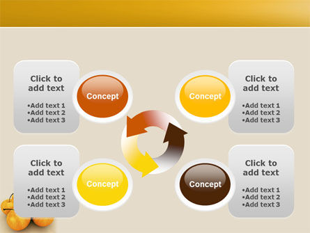 Yellow Apples PowerPoint Template Slide 9