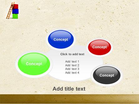 Ladder PowerPoint Template Slide 16