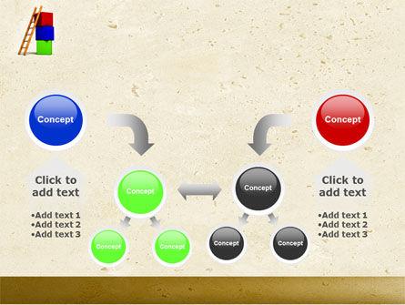 Ladder PowerPoint Template Slide 19