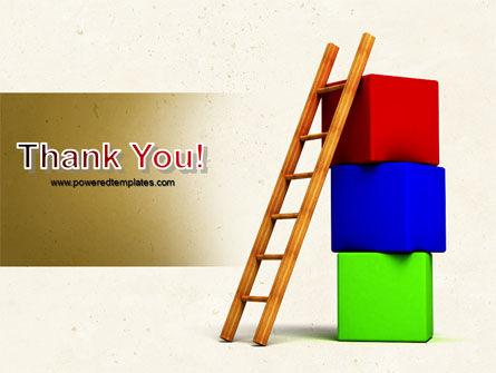 Ladder PowerPoint Template Slide 20