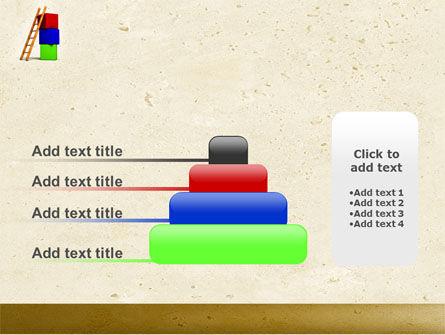 Ladder PowerPoint Template Slide 8