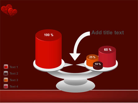 Red Hearts PowerPoint Template Slide 10