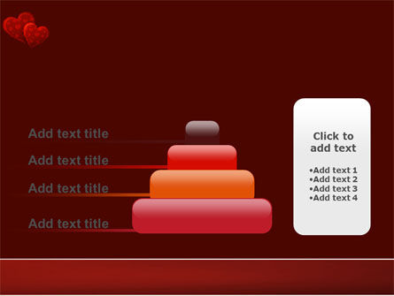 Red Hearts PowerPoint Template Slide 8
