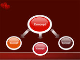 Red Hearts PowerPoint Template#4
