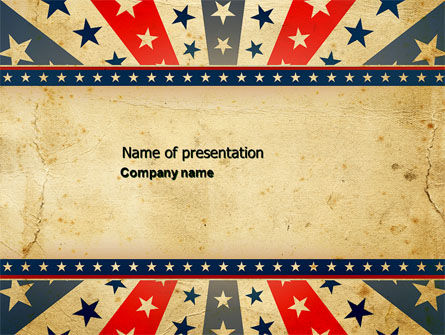 Abstract/Textures: Circus Theme PowerPoint Template #04445