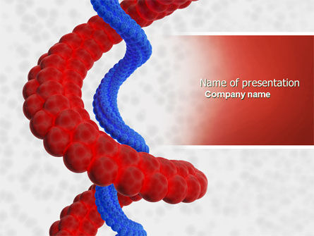 Medical: Helix PowerPoint Template #04446