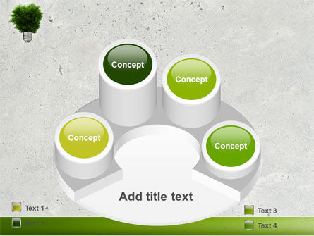 Green Energy PowerPoint Template Slide 12
