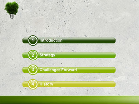 Green Energy PowerPoint Template Slide 3
