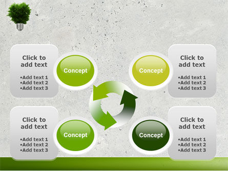 Green Energy PowerPoint Template Slide 9