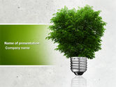 Nature & Environment: Green Energy PowerPoint Template #04448
