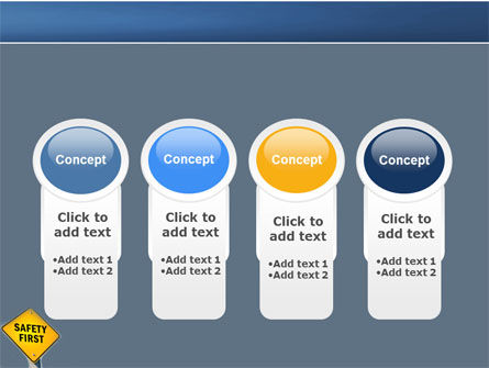 Safety First PowerPoint Template Backgrounds – Safety Powerpoint Template