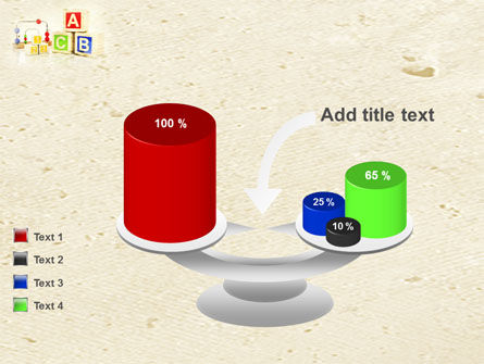 ABC Blocks PowerPoint Template Slide 10
