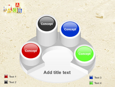 ABC Blocks PowerPoint Template Slide 12