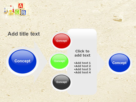 ABC Blocks PowerPoint Template Slide 17