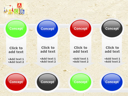 ABC Blocks PowerPoint Template Slide 18