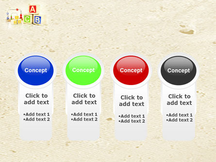 ABC Blocks PowerPoint Template Slide 5
