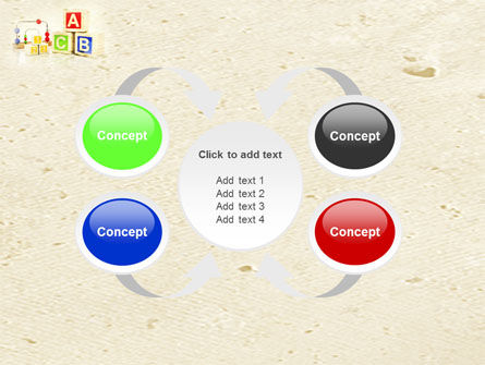 ABC Blocks PowerPoint Template Slide 6