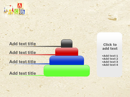 ABC Blocks PowerPoint Template Slide 8
