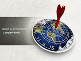 Business Concepts: World Target PowerPoint Template #04452