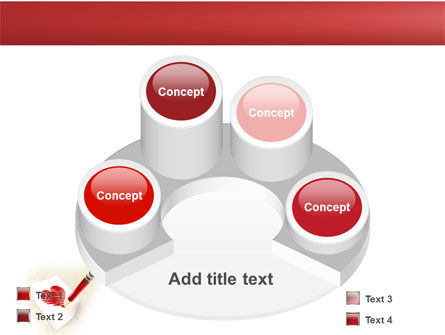 Picture of Heart PowerPoint Template Slide 12