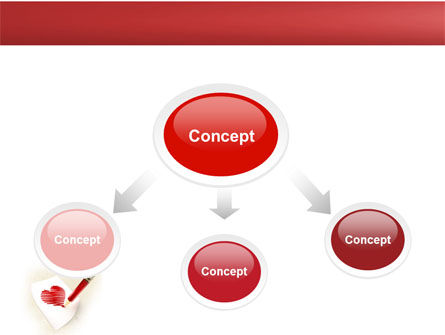 Picture of Heart PowerPoint Template, Slide 4, 04457, Holiday/Special Occasion — PoweredTemplate.com