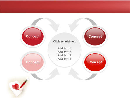 Picture of Heart PowerPoint Template Slide 6