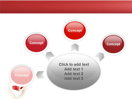 Picture of Heart PowerPoint Template Slide 7