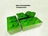 Construction: Lego Part PowerPoint Template #04460