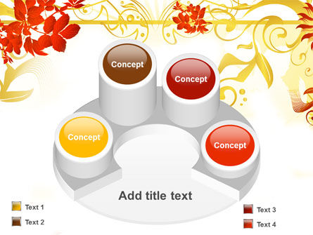 Autumn Theme With Red Leaves PowerPoint Template Slide 12