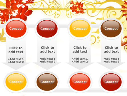 Autumn Theme With Red Leaves PowerPoint Template Slide 18