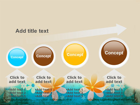 Pastel Floral Theme PowerPoint Template Slide 13