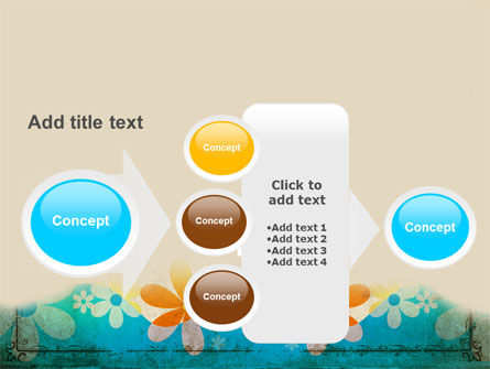 Pastel Floral Theme PowerPoint Template Slide 17