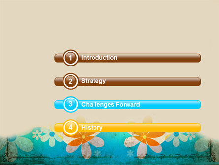 Pastel Floral Theme PowerPoint Template Slide 3