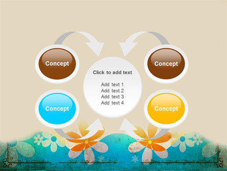 Pastel Floral Theme PowerPoint Template Slide 6