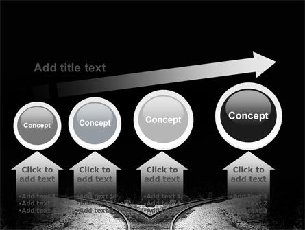 Choosing a Way PowerPoint Template Slide 13