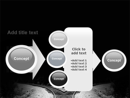 Choosing a Way PowerPoint Template Slide 17