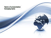 Global: World View PowerPoint Template #04472
