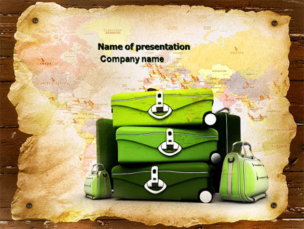 Travel Tour PowerPoint Template, 04473, Careers/Industry — PoweredTemplate.com