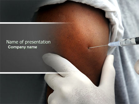 Medical: Vaccination PowerPoint Template #04474