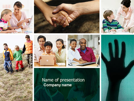 Multiculturalism PowerPoint Template, 04475, Education & Training — PoweredTemplate.com