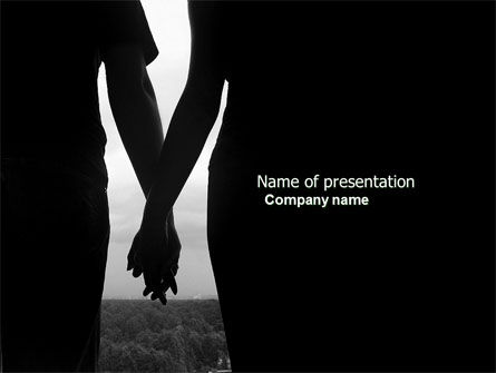Relationship PowerPoint Template, 04476, People — PoweredTemplate.com