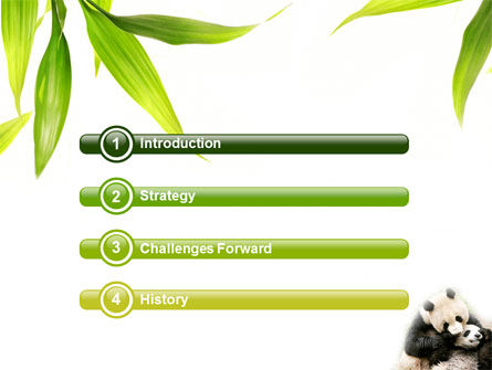 panda powerpoint template backgrounds 04479 poweredtemplate com