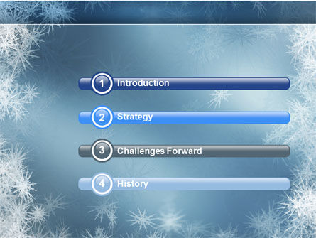 Frost PowerPoint Template, Slide 3, 04481, Nature & Environment — PoweredTemplate.com