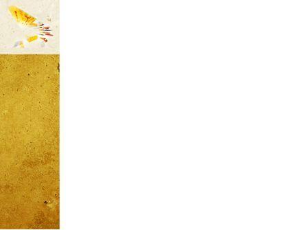 Abstract Art PowerPoint Template, Slide 3, 04482, Abstract/Textures — PoweredTemplate.com