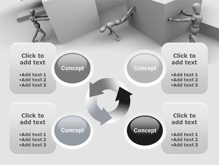 Different Angle PowerPoint Template Slide 9