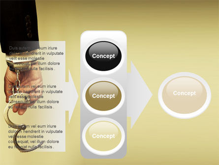 Handcuffs PowerPoint Template Slide 11