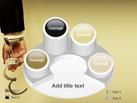 Handcuffs PowerPoint Template Slide 12